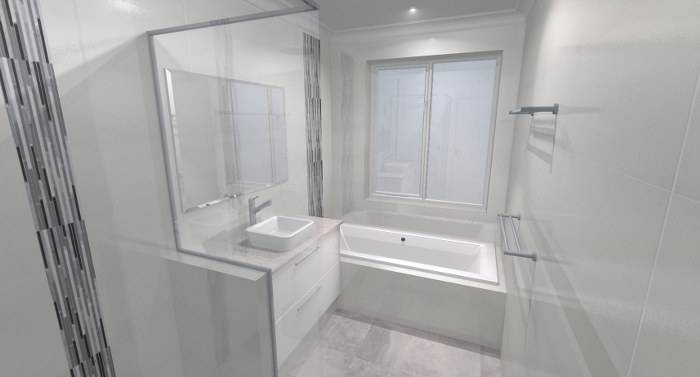 Designed by bathroom renovations perth www for Bathroom renovations 3d