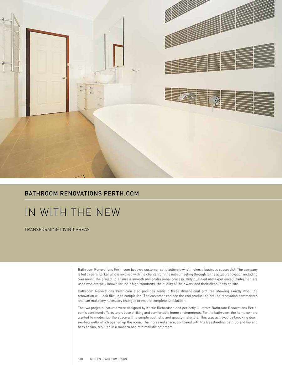 Western Australia Kitchen + Bathroom Design Issue 1 | Bathroom ...