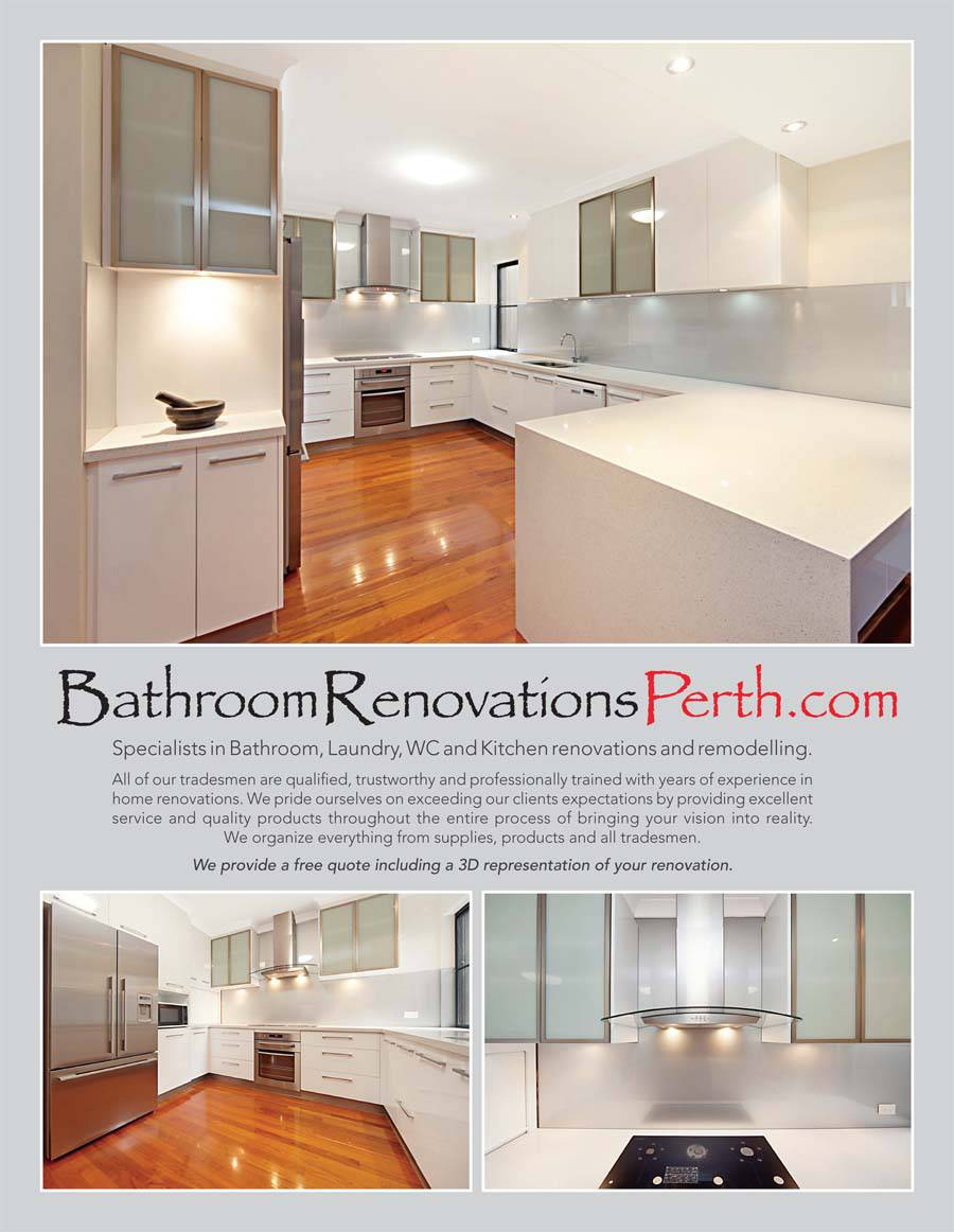 Western Australia Kitchen Bathroom Design Issue 2 Bathroom Renovations Perth
