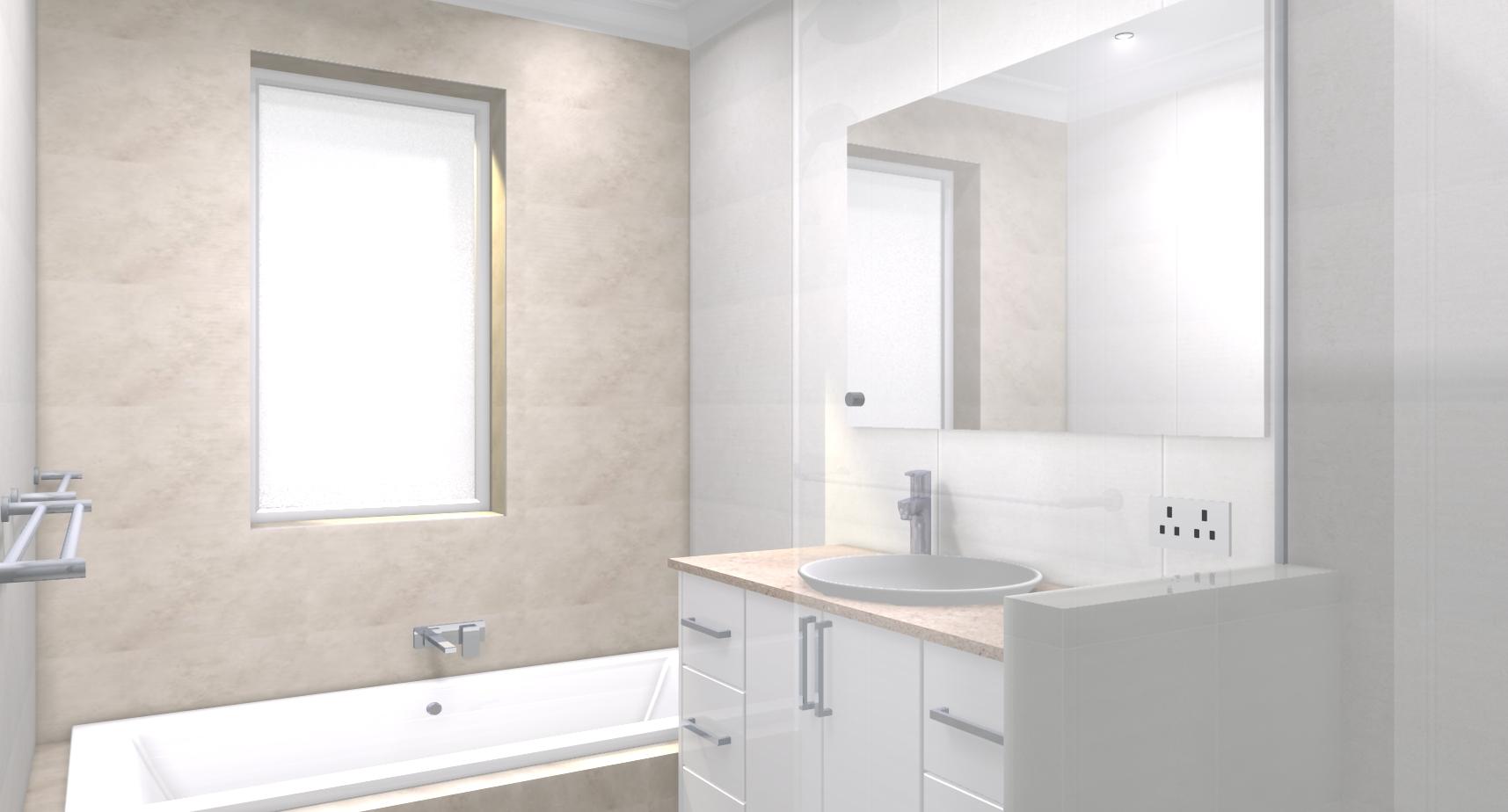 Leanne ray p bathroom bathroom renovations perth for Bathroom renovations 3d