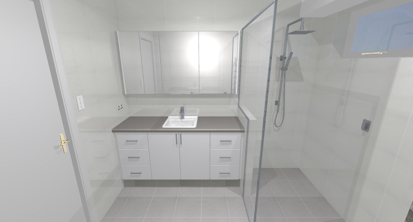 Bruce lisa o bathroom bathroom renovations perth for Bathroom renovations 3d