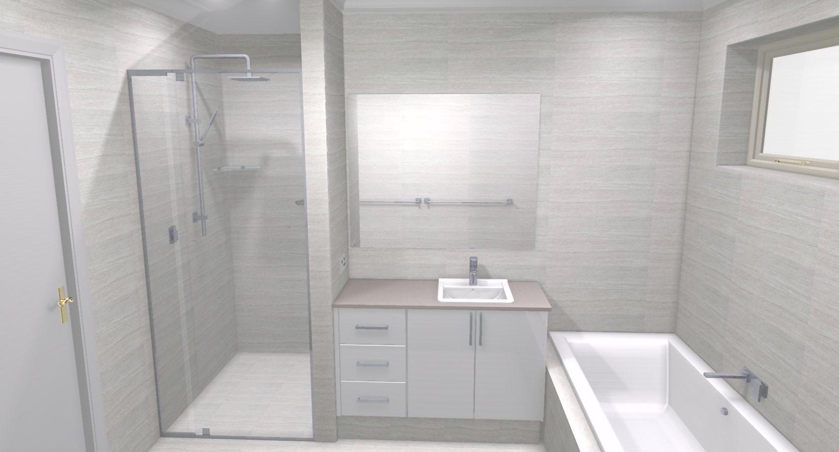 Martin annette b bathroom bathroom renovations perth for Bathroom renovations 3d