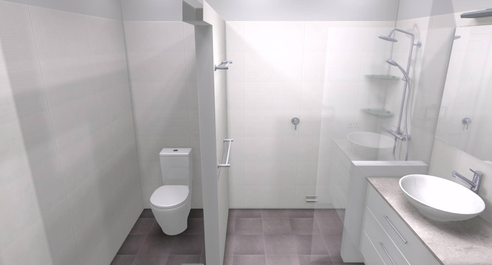 Angela p bathroom bathroom renovations perth for Bathroom renovations 3d