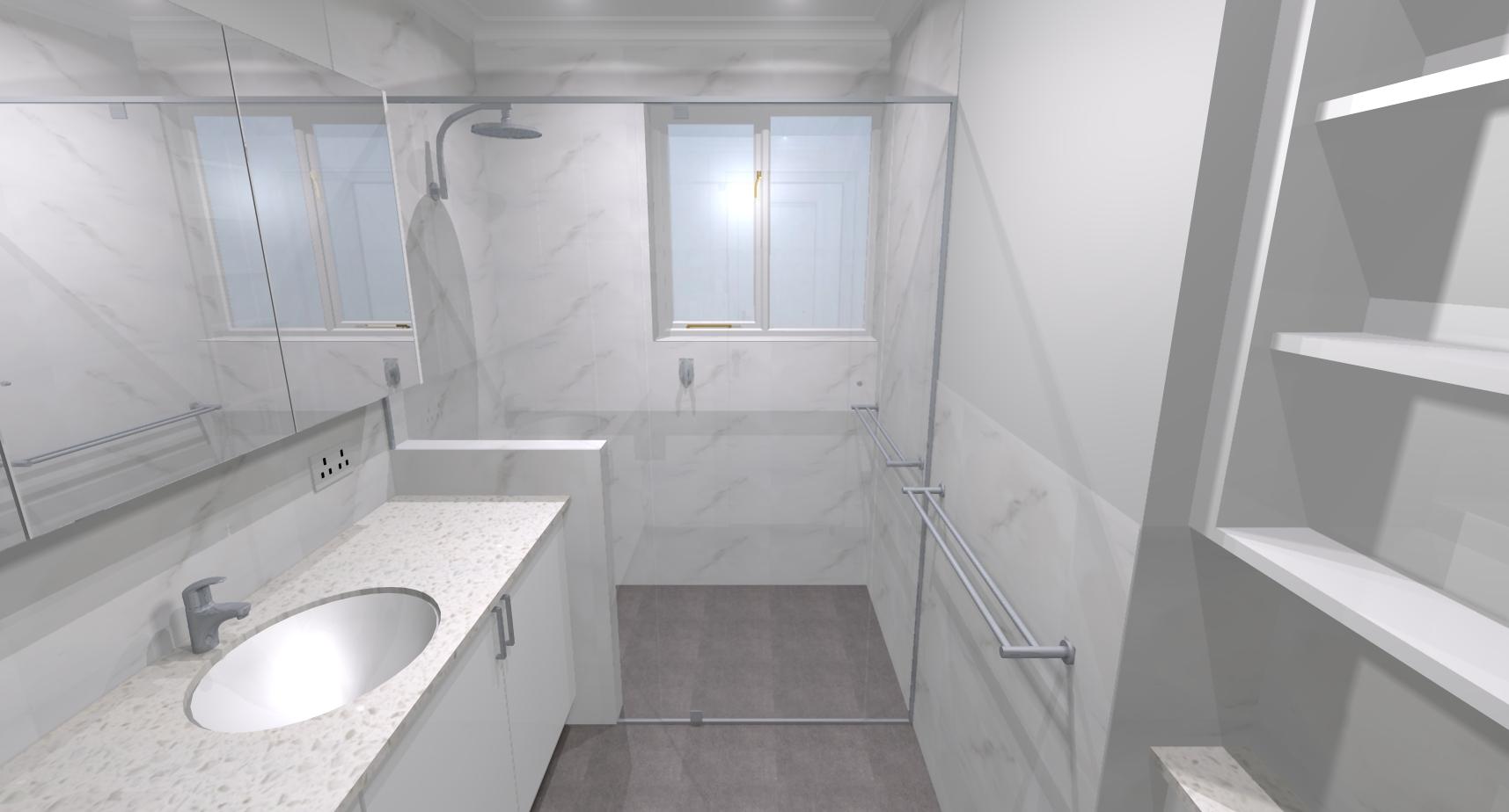 Kaye edward j bathroom bathroom renovations perth for Bathroom renovations 3d