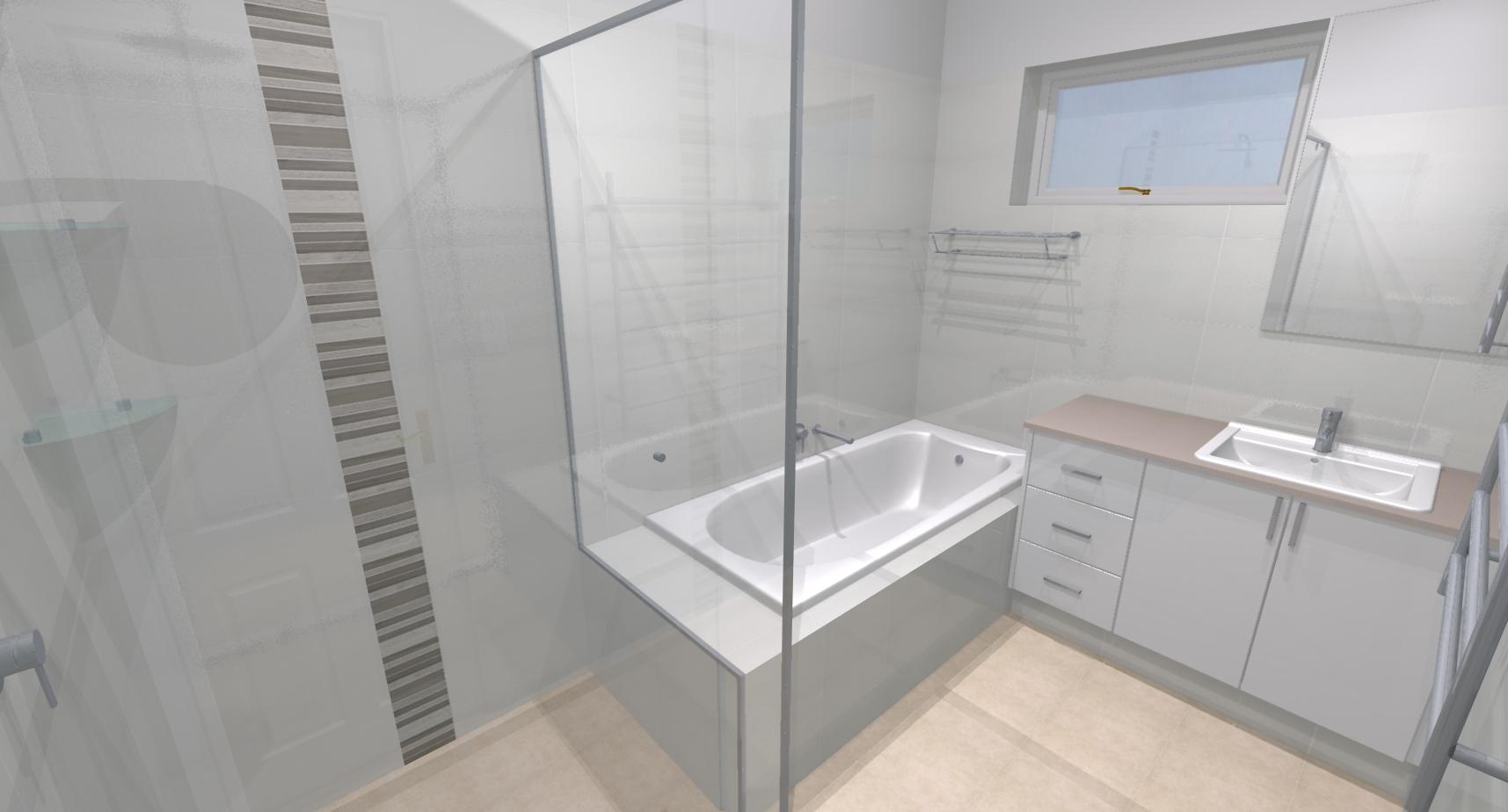 Simon elly m bathroom bathroom renovations perth for Bathroom renovations 3d