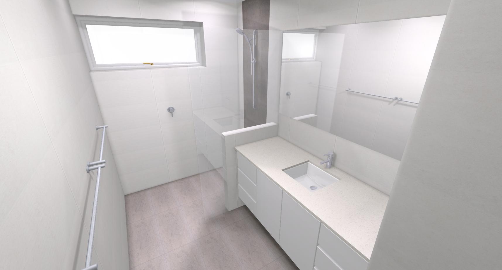 Meicha p bathroom bathroom renovations perth for Bathroom renovations 3d